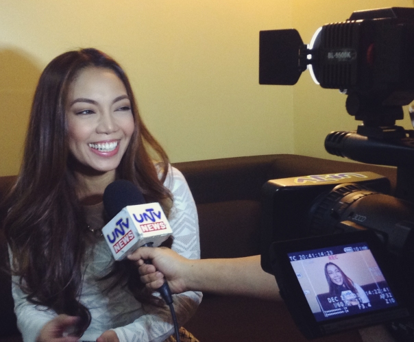 UNTV Interviews Jonalyn Viray